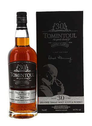 Tomintoul 30  Robert Fleming 30th Anniversary 1st Release - טומינטול 30