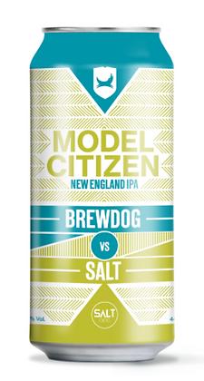 "ברודוג VS סולט, מודל סיטיזן, אנ. יא. איי. פי.איי. 440 מ""ל – Brewdog vs. Salt Mod"