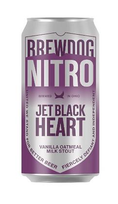 """ברודוג נייטרו ג'ט בלק הרט 402 מ""""ל – Brewdog NITRO Jet Black Heart"""