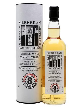 Kilkerran 8 Cask Strenth Bourbon - קילקרן 8 חוזק חבית