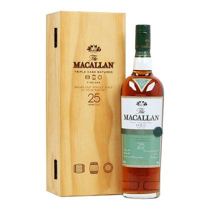 Macallan 25 Fine Oak- מקאלן 25 פיין אוק