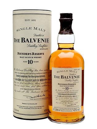 Balvenie 10 Founder's Reserve - בלוויני 10 פאונדרס רזרב