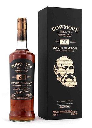 Bowmore 20 David Simson - באומור 20 דויד סימסון