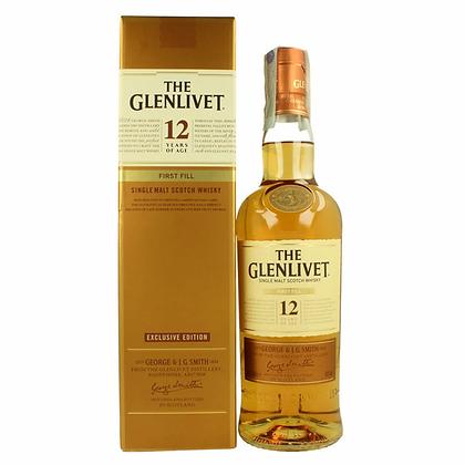 Glenlivet 12 First Fill -  גלנליווט 12 פירסט פיל