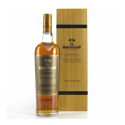 Macallan Edition No1 WOOD - מקאלן מספר 1 עץ