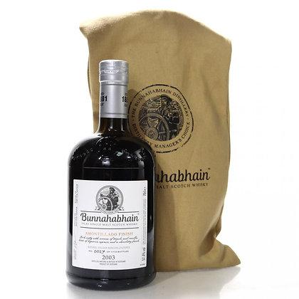 Bunnahabhain 2003 Amontillado Finish  - בונאהאבן 2003 שרי אמונטילדו