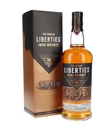 The Dublin Liberties 10- דבלינר ליברטיז קופר אלי 10 שנים