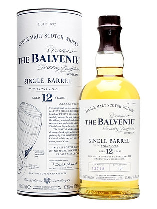 Balvenie 12 Single Barrel - בלוויני 12 סינגל בארל