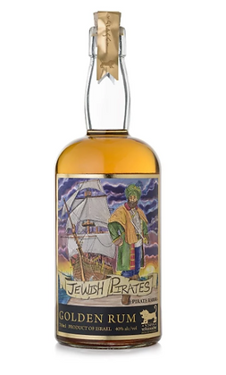 Jewish Pirates Gin - הפיראט היהודי גולדן רום