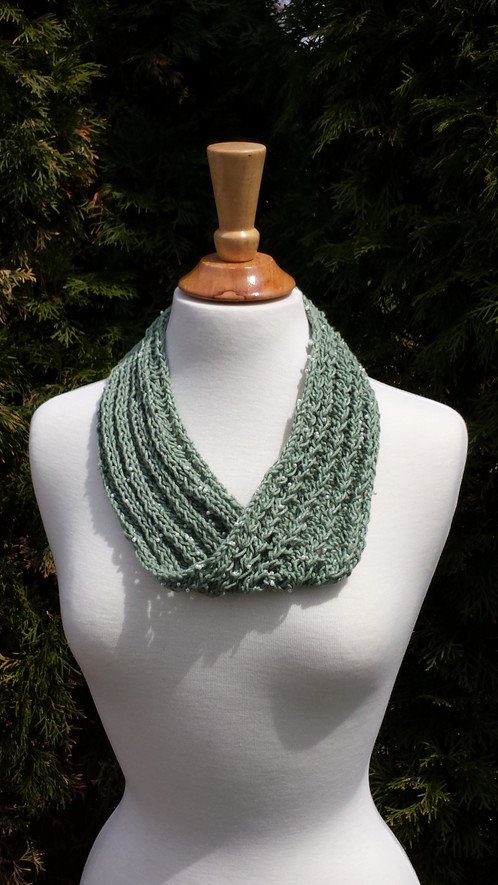 Dew Drop Lace Cowl Knitting Patterns Beautiful Easy Now