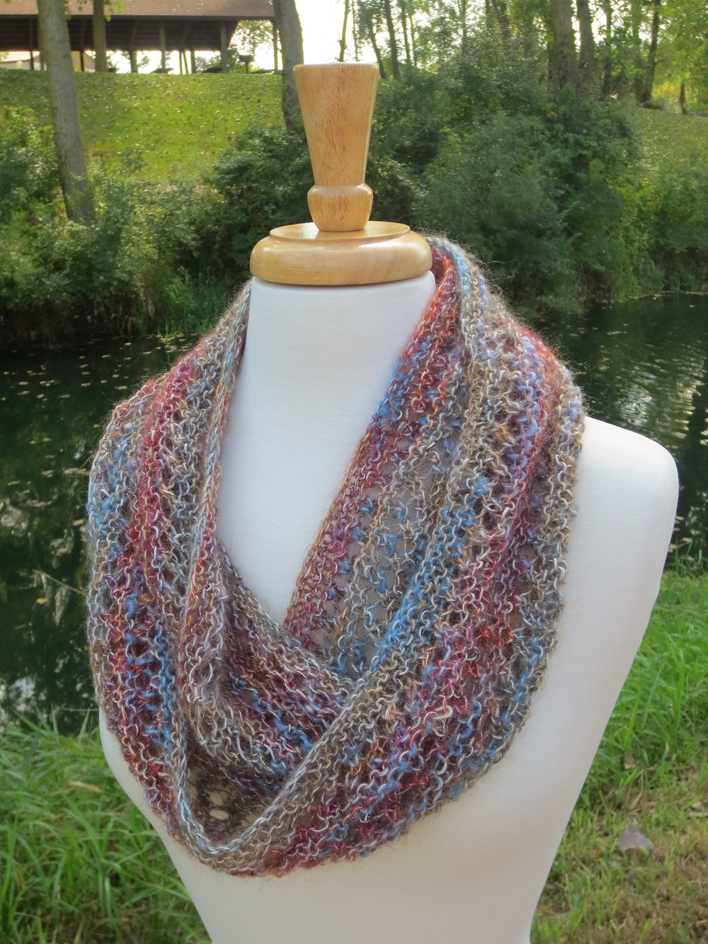 Shabby Chic Cowl knitting pattern