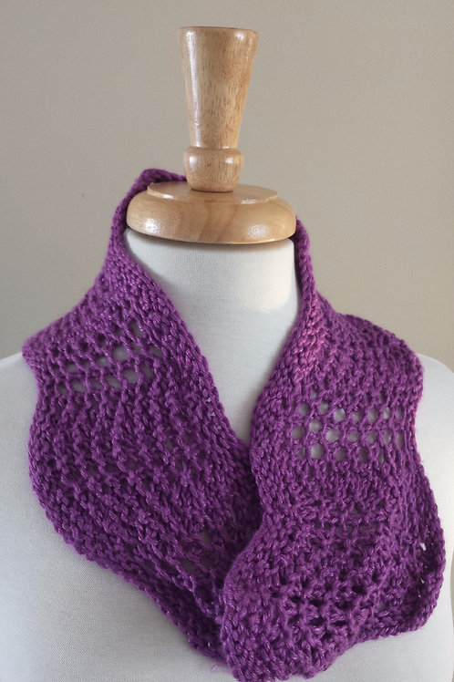 Orchid Lace Cowl