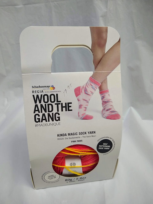 Wool and the Gang Kinda Magic Sock Kit