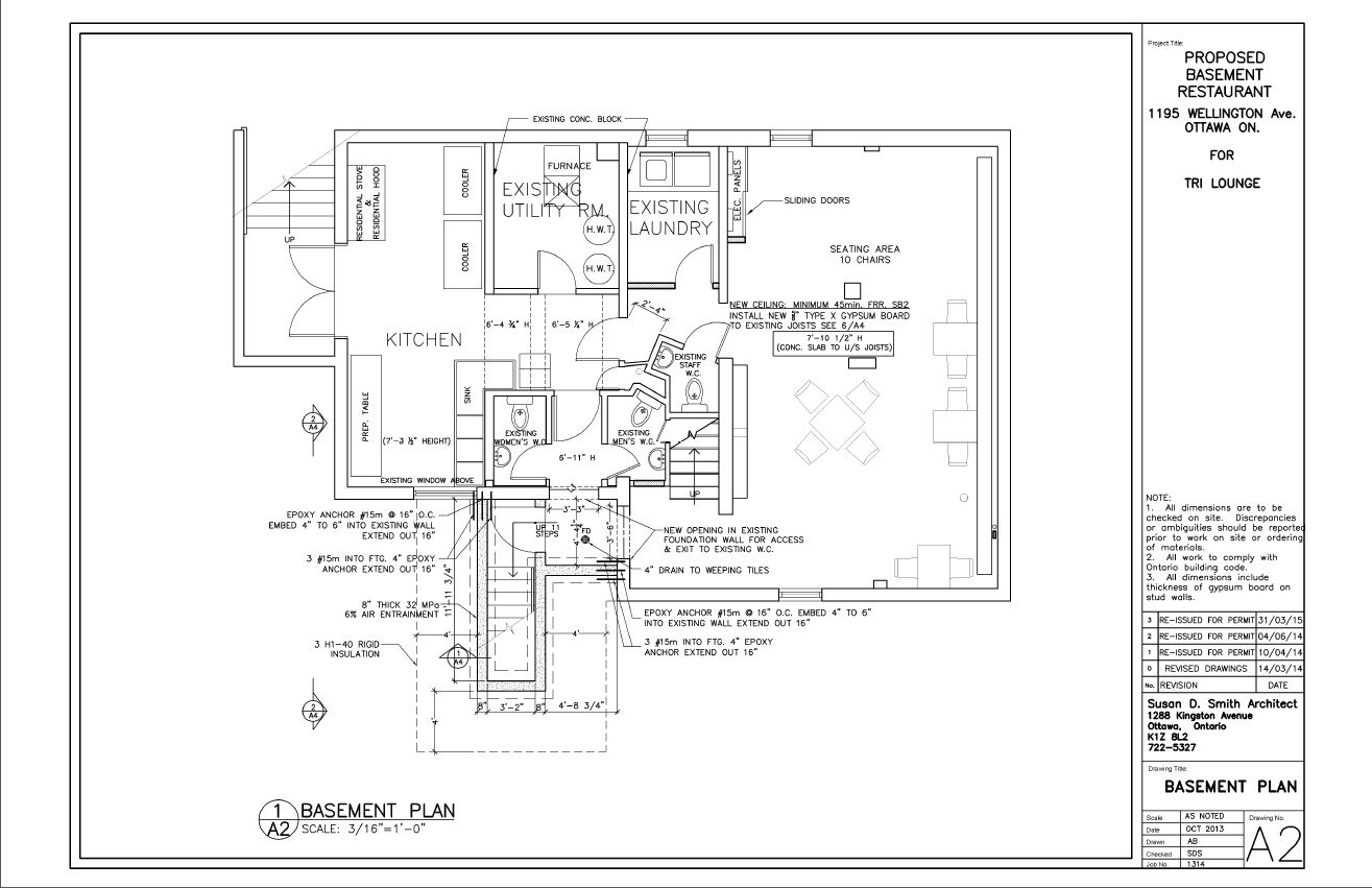 A2- LOWER LEVEL PLAN