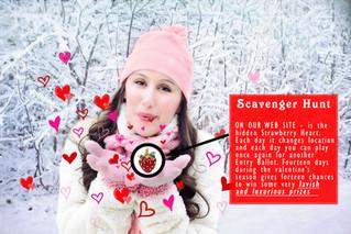 Valentine's Day elusive Strawberry Heart