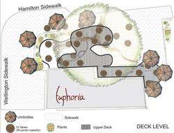 Garden Cafe Concept Drawing deck level