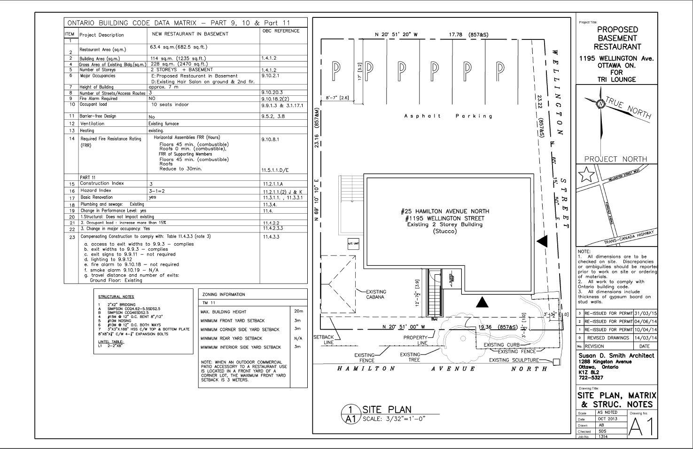 A1-SITE PLAN & MATRIX