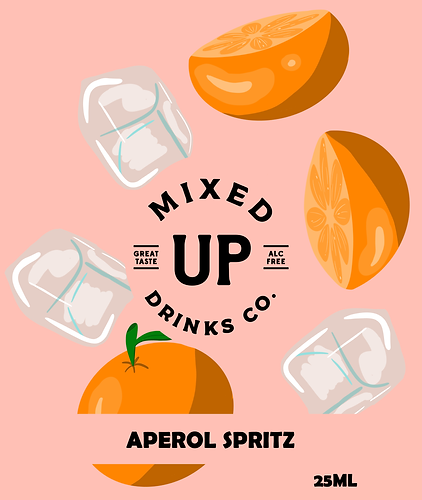 Buzzy Graphics freelance graphic designer and illustrator in manchester and lancashire available for hire remotely packaging desing illustration can design drink packaging design