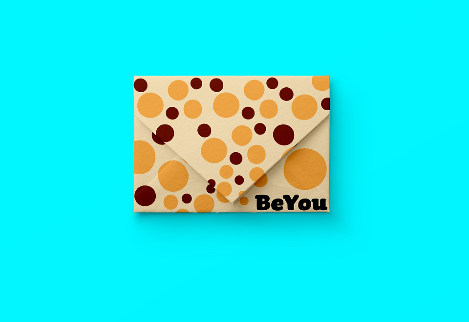 Envelope design branding graphic design