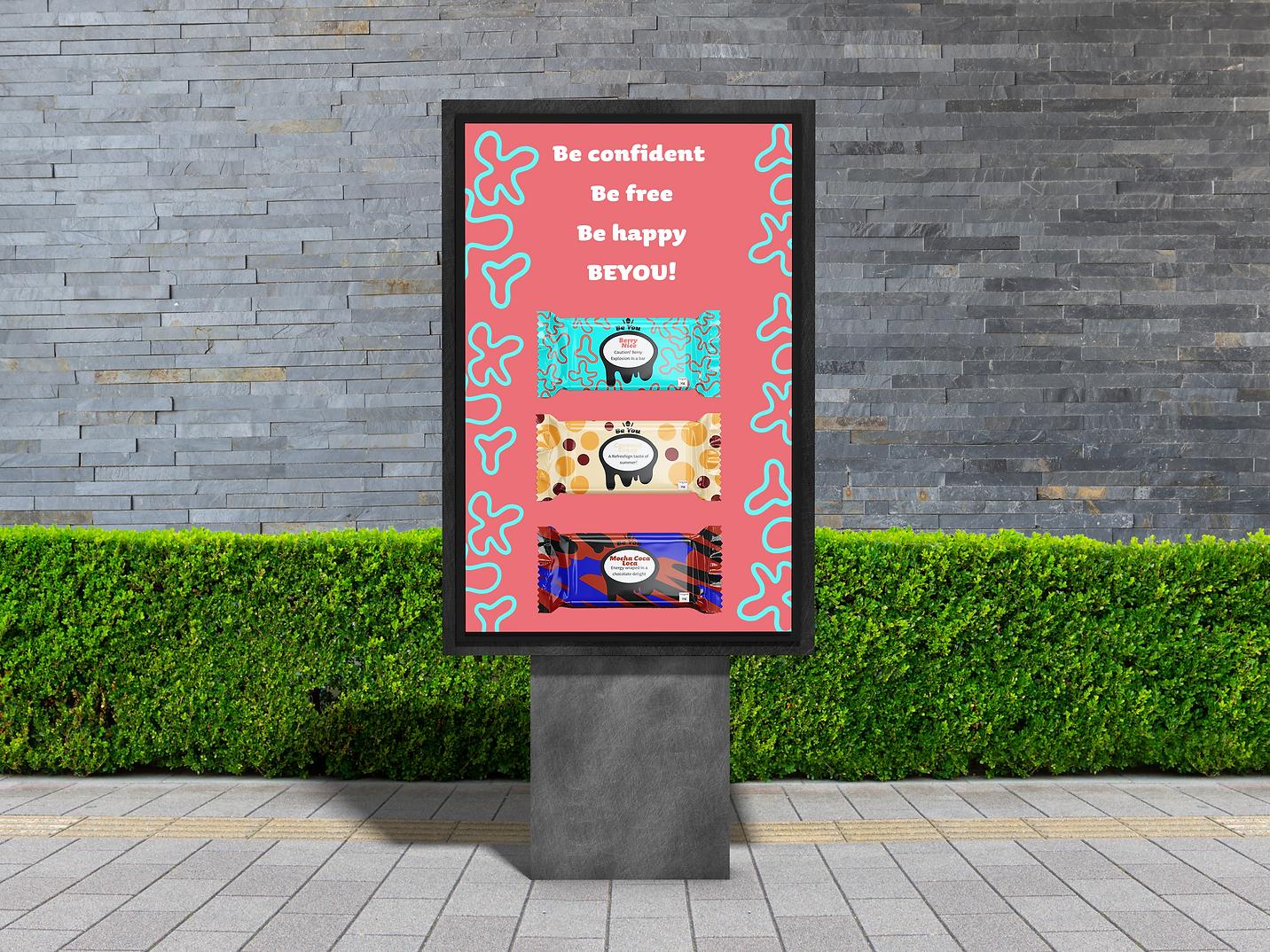 Outdoor Advertisement billboard branding graphic design