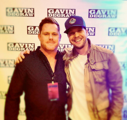 Eric Hayes and Gavin Degraw