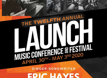 Eric Hayes to Headline Launch Music Festival- Lancaster, PA