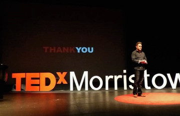 Eric Hayes Standing Ovation TEDx Morristown
