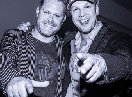 Fun times with Eric Hayes and Gavin Degraw