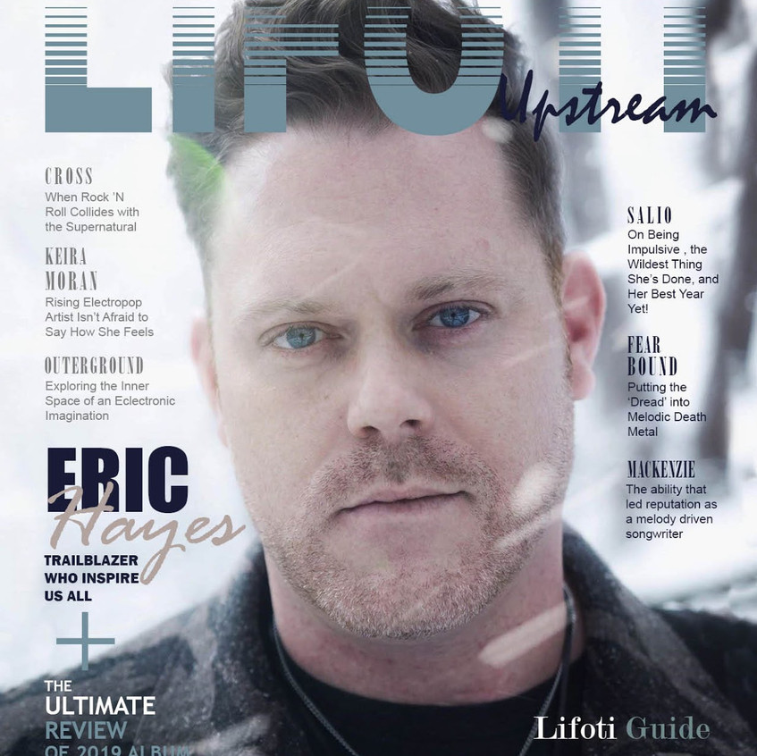 Eric Hayes Cover of Lifoti Magazine