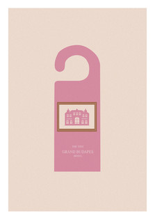 THE TINY GRAND BUSAPES HOTEL POSTER RE-DESIGN