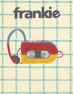 FRANKIE MAGAZINE COVER RE-DESIGN