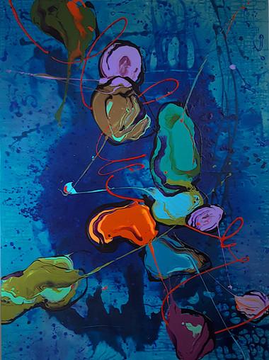 Peintre abstrait-Florence Pages-Art Rithmetique-c=1/2b