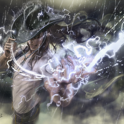 エフェクト「雨」「雷」を描く(wacom公式イラストテクニック)