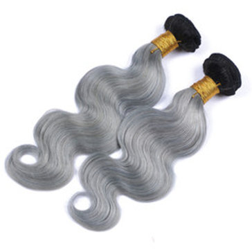 Brazilian Body (ombre) Black to Grey