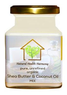 Organic Shea Butter & Coconut oil