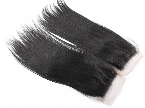Brazilian Lace Virgin Straight Closure(sale)