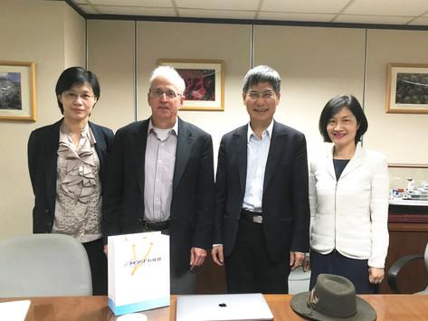陳良基部長接見NVIDIA資深副總裁兼首席科學家 William J. Dally深化雙方AI合作布局