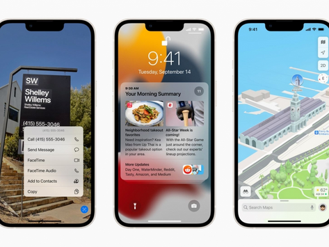 iOS 15來了!Facetime視訊Android親友嘛ㄟ通、顯示現在狀態...15大更新一次看