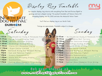 Introducing the weekend timetables...