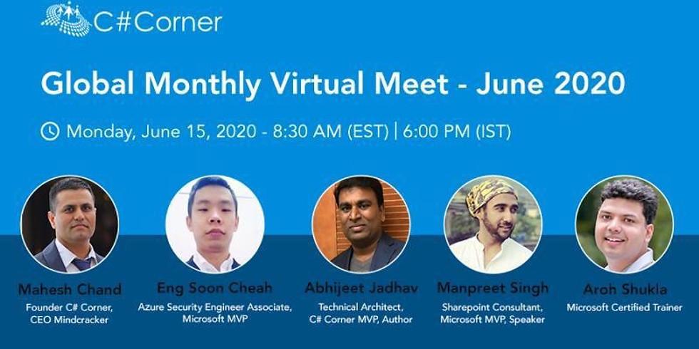 C# Corner Virtual Meeting - June