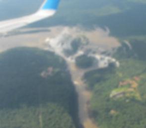 Vista aerea Cataratas de Iguazu