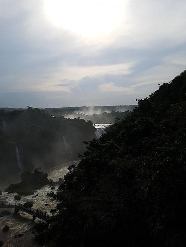 Atardecer Cataratas de Iguazu Argentina
