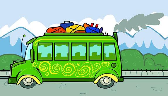Bus viajando