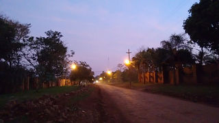 Atardecer Casa Yaguarete B&B Puerto Iguazu Argentina