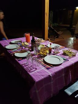 Diner Casa Yaguarete B&B Puerto Iguazu Argentina