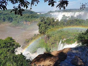 Rainbow Cataratas de Iguazu Argentina