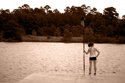 Dock Stance Sepia