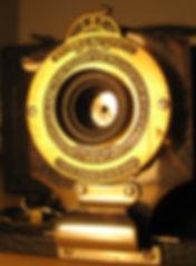 kodak n2 folding pocket camera red bellows meniscus lens shutter
