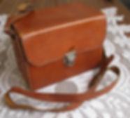 Kodak Brownie No.0, mod. A original leather carrying bag