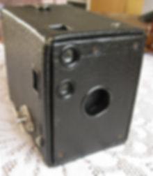 Kodak Brownie No.0, mod. A Box camera 127 film format meniscus lens